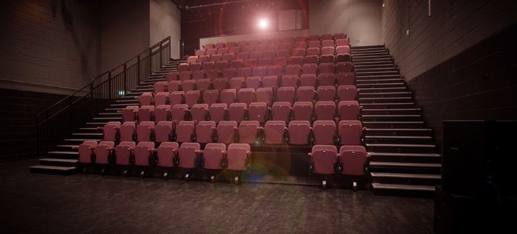An empty theatre: Coming soon, youth film festival!